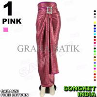 Jual Special ROK LILIT Instan B115-1 Bahan Songket Batik Include Gasper Rin Murah