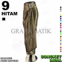 Jual Promo ROK LILIT INSTAN B115-9 Bahan Batik Songket Include Ring Belt Ga Murah