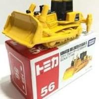 Tomica No 56 Komatsu Bulldozer D155AX-6 alat Berat Takara Tomy Murah