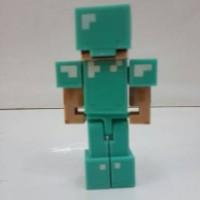 PROMO Action Figure minecraft Steve with Diamond Armor mojang original
