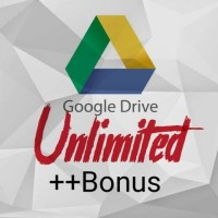 Akun Google Drive Unlimited Legal!!