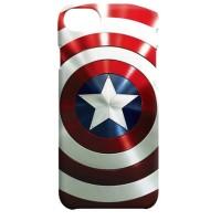 Jual Indocustomcase Captain America Shield Minimal Red iPhone 7 or 8 Case Murah