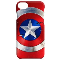 Jual Indocustomcase Captain America Shield  Red iPhone 7 or 8 Hard Case Murah