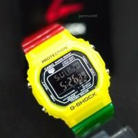 JAM TANGAN PRIA/WANITA G-SHOCK GLS 5600 TRANSPARAN RAINBOWN