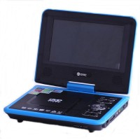 GMC portable DVD player DIVX-808Y-TV-GAME-FM RADIO 11 inch