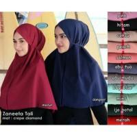 Hijab Zaneeta Tali / Grosir Jilbab Instan murah wanita / Khimar Syari