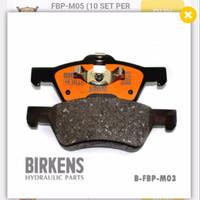 "Brake Pad / Kampas Rem Escape 3.0 '08 Dpn FBP-M03 Birkens "" 70222 """