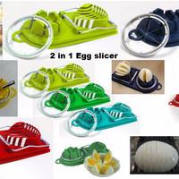 Jual 2 in 1 Egg Slicer & Sectioner Murah
