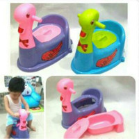 Jual Children Baby Toddler Toilet Training Potty Seat Angsa Trainer Anak   Murah