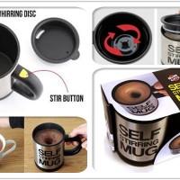 Jual AQ6778 Self Stirring Mug Gelas Pengaduk Otomati KODE X6778 Murah