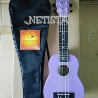 Jual ukulele cowboy 210 soprano ungu Murah