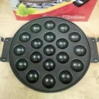 Jual Cetakan Takoyaki 19 Lubang/Snack Maker/Teflon Telur Cubit Murah