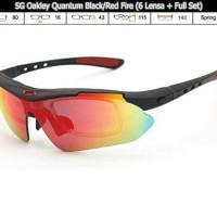 Kacamata 6 lensa Oakley Quantum
