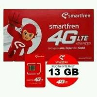 Jual Kartu Perdana Internet Smartfren 13Gb 4g Murah