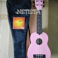 Jual ukulele cowboy 210 soprano pink Murah