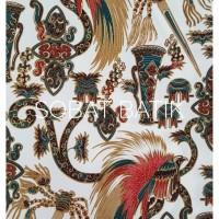 harga Kain Batik Semi Sutra Motif Papua 51110 Putih Tokopedia.com