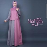 Jual Shofiyah Dress/Dress comby warna/Dress murah/Dress keren Murah