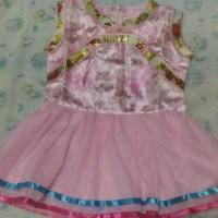 Jual Dress tutu Anak Model Shanghai (pink) Murah