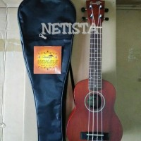Jual ukulele cowboy 210 soprano coklat Murah