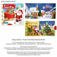 Jual Busy Santa- Push Pull Slide Board Book Murah