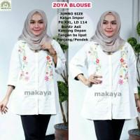 Baju Wanita Atasan Muslim Blouse Zoya