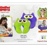 bantal menyusui seri owl dialogue