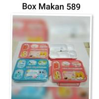 Jual lunch box / kotak makan yooyee 6 sekat Murah