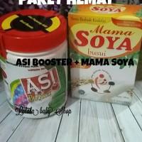 Jual Paket Hemat Pelancar Asi Mama Soya Vanilla dan Asi Booster Tea Murah