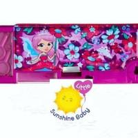 Smiggle Pencil Case Pop Up Fairy Purple
