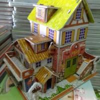 Jual Puzzle 3D Villa Murah
