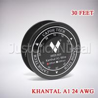 Authentic Vaportech Khantal A1 24 AWG 30 Feet Kawat Coil Vape Vapor
