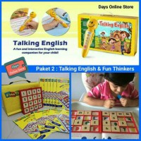 Paket 2 Fun Thinkers dan Talking English dari Grolier