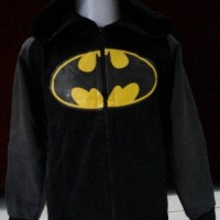 Jual JKKDL43 - Jaket Anak Batman Yellow Logo New Version Murah