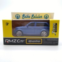 Miniatur Mobil Land Rover Range Rover Sport Biru RMZ City skala 1:60