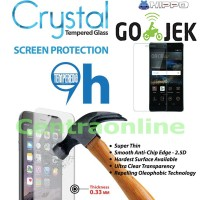 Hippo Crystal SAMSUNG C5 PRO TEMPERED GLASS TG Screen Guard Anti Gores