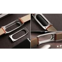 Jual Leather Strap Option for Xiaomi Mi Band Baru Murah