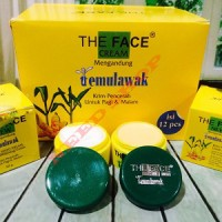 CREAM TEMULAWAK THE FACE ORIGINAL SUDAH BPOM HOLO SUPER