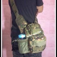 tas ganteng ARMY TYPE 803 MINI WARNA MARPAT digital hijau outdoor tp
