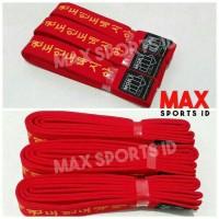 Sabuk Merah Taekwondo Moks Deluxe