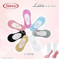 Jual [SOREX] Kaos Kaki Wanita Bawah Mata Kaki Invisible Socks Sorex W5708 Murah
