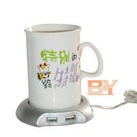 Jual Penghangat Minuman/Kopi USB 2.0 Coffee Cup Warmer Pad with 4 USB Ports Murah