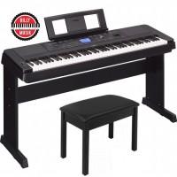 BILLY MUSIK - Digital Piano Yamaha DGX660 & Kursi Piano