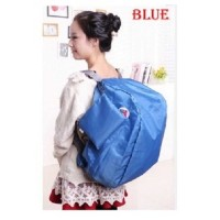 First Project Iconic Tas Ransel Lipat Three Way Backpack Foldable Bag