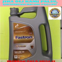 Oli Mesin Mobil Pertamina FASTRON GOLD SAE 0W20 Galon 4 Liter