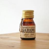 Ekstrak Vanili (Vanilla Extract) Nonalkohol (Halal) 30 ml (Via Gojek)