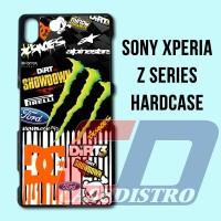 Monster Energy DC Bom Stiker Casing Hardcase Sony Xperia Z1 Z2 Z3 Z5
