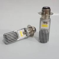 Jual Lampu LED Utama Depan Motor Socket H6 2 Sisi Universal Igawa PnP Murah