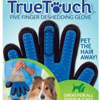 PROMO EH111 True Touch Sarung Tangan Pemijat Perapi Bulu Hewan Anjing
