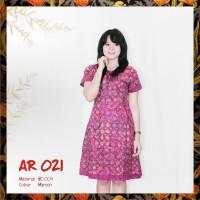 Dress Batik Modern Kombinasi - Best Seller
