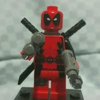 Jual Lego ORIGINAL Minifugure Deadpool ( set 6866 ) Murah